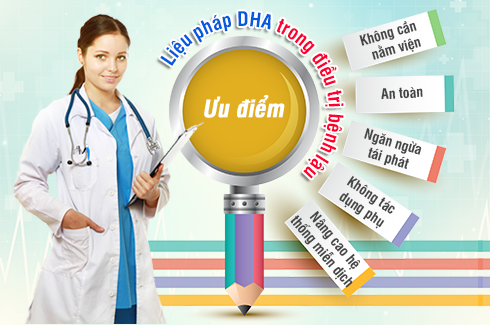 Phương Pháp DHA chữa bệnh lậu có hiệu quả không?