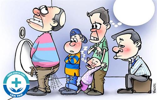Nhận biết bệnh nam khoa qua nước tiểu